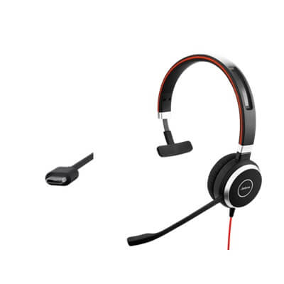 Jabra Evolve 40 MS Mono USB-C